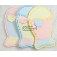 1 PCS Cute Design Cartoon Gloves Bathwater Bath Cute Glove Baby Bathing Sponge kids Bath Rub Random