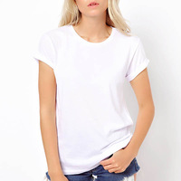 New 2014 fashion t shirt for women laser backless angel wings women's White Black shorts tops & tees t-shirt #5500