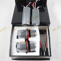 LED Angel Eyes 25W Cree FOR BMW Auto E39 LED Marker bulbs for BMW E39 E53 E60 E61 E63 E65 E66 E87 2pcs/set Free shipping!