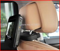 Dual 9 inch headrest monitor with game,sd usb, rca input,FM IR