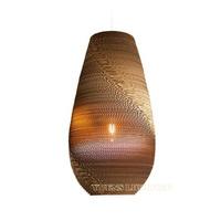 Paper Pendant Light Creative Northern Europe IKEA Lampshade microscler lights E27 YSL-001B,Free shipping