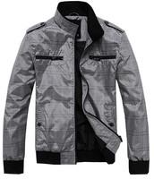 free shipping men coat 2014 new spring coats men's casual jackets, slim fit coat,cardigan style jacket 55