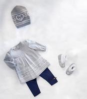 New 2014 Brand Baby Girls Autumn Clothing Sets Fashion Kids Girls 3pcs Suit Hat + Shirt + Pants Winter Autumn Suit Girls