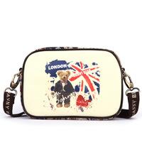 Danny Bear England Style Fashion Women Leather Shoulder Bag Small Satchel Bag Women Messenger Bags BFK0241