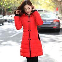 free shipping women's long length down jacket , 2014 new women winter coat down parka outdoor warm down jacket 108