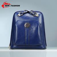 Hot Sale Fashion Desigual Genuine Leather Women Backpack Designer Brand Vintage Cowhide Female Casual Travel Bag 5 Colors NO1029
