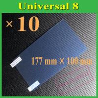 "Matte Anti-Glare Anti Glare Universal 8 8"" Inch Screen Protector Protection Guard Film,177mm X 100mm,10pcs"