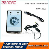 Heart Rate monitor with Infrared Ear Clip and USB Cable