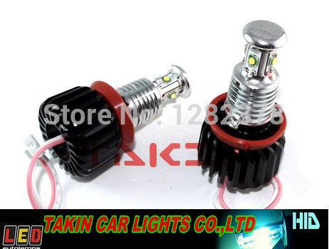 Error free ! CREE H8 20W led headlight auto led angel eyes halogen lamp model H8(China (Mainland))