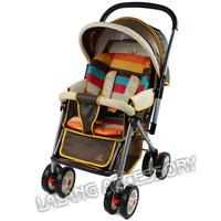 1PCS New Waterproof Baby Stroller Cushion Stroller Pad Pram Padding Liner Car Seat Pad Rainbow General Cotton Thick Mat  870139