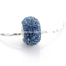 Classic new 925 Sterling Silver beads for women fit pandora pendants bracelets & Necklaces charms Crystal Accessories