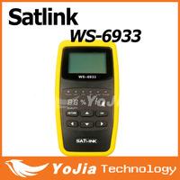 Original Satlink WS-6933  DVB-S2 FTA  C&KU Band Satellite Finder Meter satlink6933 ws6933 with 2.1Inch LCD Display Free Shipping