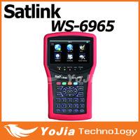 Original Satlink WS6965 DVB-T&DVB-T2 With Spectrum Analyzer Finder digital meter Satlink 6965 WS-6965 Free Shipping