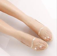 Summer designer shoes pointed flat shoes fashion diamond goosegrass bottom sandals women pregnant women shoes