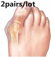 2Pairs Feet Care Gel Bunion Big Toe Spreader Eases Foot Pain Foot Hallux Valgus Guard