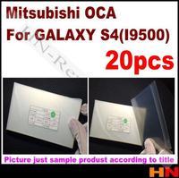 20pcs 5.0 inch OCA optical clear adhesive for Samsung Galaxy S4 i9500 free shipping   for Mitsubishi  Mitsu