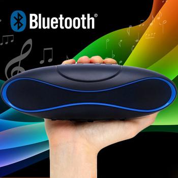 Мини bluetooth-спикер беспроводной регби портативные сабвуфер QFX TF / AUX / USB / fm-плеера звук коробка со встроенным - в микрофон