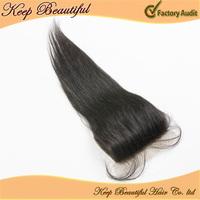 "Cheap Virgin Grade 6A Rosa  hair products 4X4"" Free Part Silk Base Top Lace Closure 10-20inch Straight hair Free shipping"