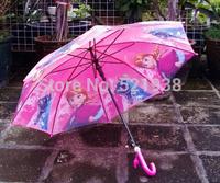 Wholesale -5pc Frozen Umbrella Frozen Princess Elsa & Anna Children Umbrella 68cm Frozen Series NEW Arrival