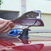 Shark fin car radio signal Antenna Aerials sticker with 3M adhesive for Nissan qashqai Chevrolet Cruze free shipping