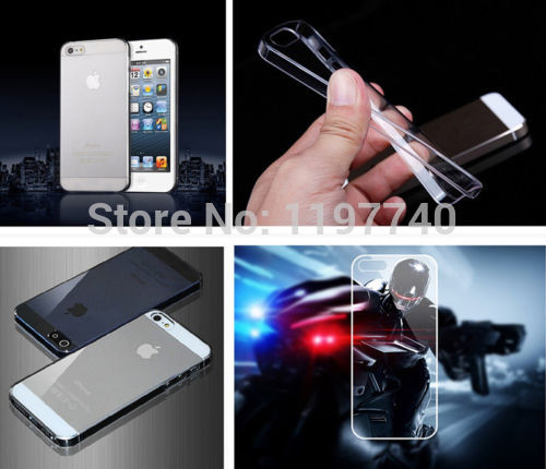 "For Apple iPhone 6 4.7""/PLUS 5.5"" / 5 5g 5s 5c 4 4s 4g 3 3g For Ipod touch 4th/5th:Ultra Thin Hard PC Clear Back Case cover(China (Mainland))"