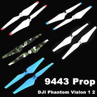 40PCS/Lot 20Pair DJI 9443 Self-Tightening Nylon Props Propeller Blade for DJI Phantom Vision 1 2 Quadcopter