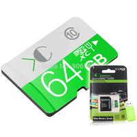 Memory card Free shipping micro sd card 32gb Class10 flash drive16GB 32GB memory stick microsd card+usb Reader