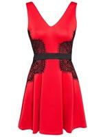 2014 New Vestidos Femininos Women Zipper Back Lace Vintage Bodycon Bandage Dress Mini Casual Evening Party Office Dress 9096