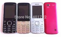 2014 New Slim Gold Mini Phone Camera MP3 Radio Bluetooth Flashlight Dual Sim Card Cheap Cell Phone Russian Keyboard French