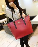 2014 new Women Leather handbags shoulder totes bags women bolsas