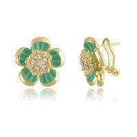 Free Shipping (5 Pairs/ Lot) Classical Joker Elegant Flowers Stud Earrings