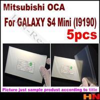 5pcs  for Galaxy S4 mini i9190  for Mitsubishi  Mitsu OCA optical clear adhesive
