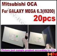 50pcs 250um OCA for Samsung Galaxy i9200 Optical Clear Adhesive For LCD Refurbish  for Mitsubishi  Mitsu