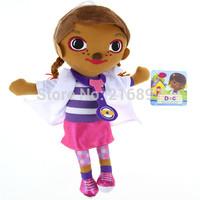 Doc McStuffins Doctor Girls 12inch Size Plush Toys Stuffed Dolls Brinquedos