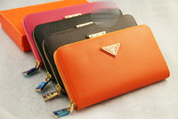 Fashion women leather wallet brand wallet long section