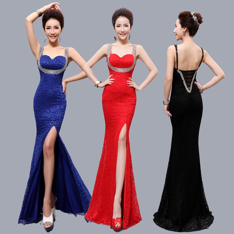 Livraison gratuite chérie manches robe de soirée de bal perlée de bal bal formelle robe de soirée longue 2014 nouvelle robe d'été