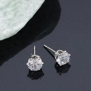 Jewelry Princess Lulu star Song Hye Kyo stud earrings with paragraph(China (Mainland))