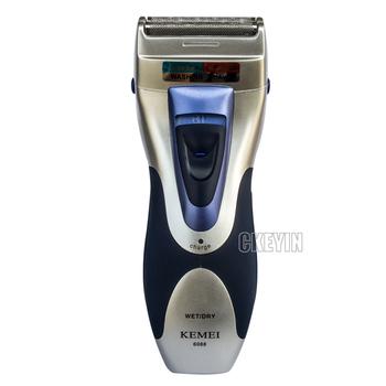 Rechargeable Dual-head Men Electric Shaver Foil Shaver Razor Beard Trimmer Shaving ...