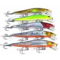 5pcs 140mm/23g Large Popper Plastic Artificial Minnow Fishing Lure Hard Bait