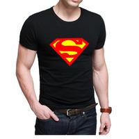 High Quality t shirt Summer Men's Shirts Fashion Superman  Batman T shirt Men's Tee Shirts