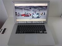 Free Shipping 14.1 inch Ultrabook slim laptop Intel J1800 2.41GHz 4GB DDR3 Ram 500GB HDD WIFI Windows8 Webcam 64bit bluetooth