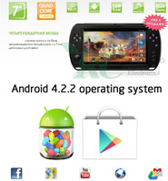 "android game pad Video Games 7"" Android4.2 table pc quad core 1.6GHz 1GB +8GB  games console"