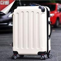 "20"" inch Trolley suitcase luggage rolling spinner wheels Pull Rod trunk Women Girl traveller case boarding bag customs lock"