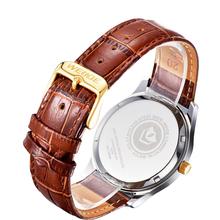 New WEIDE Luxury Complete Calendar Genuine Leather Strap Men s Fashion Dress Watches Sapphire Swiss Quartz