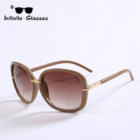 2014 New Infinite Sunglasses Fashion Glasses Butterfly Style Coating Sunglass Women Gafas Men Brand Metal Oculos De Sol N147