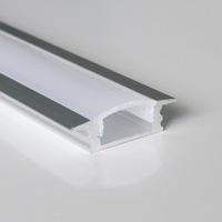 40m (20pcs) a lot, 2m per piece anodized aluminum profile for led flexible and rigid strips light