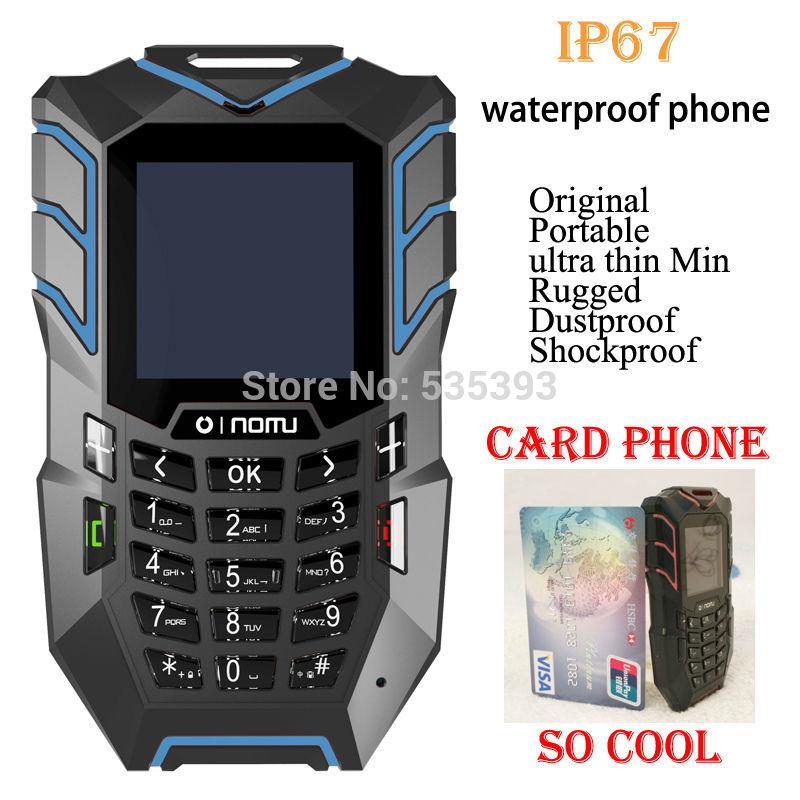 2014 newest original ip67 Waterproof phone rugged Dustproof shockproof Oinom LM138 credit Min Card children phone cellphone(China (Mainland))