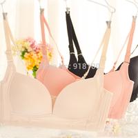 Sports underwear bra wireless bra push up the eurygaster furu thin adjustable women's seamless underwear