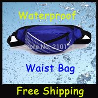 Hot sale 2014 High Quality Outdoor sports waterproof waist bag waist Travel and leisure shoulder bag sport bag