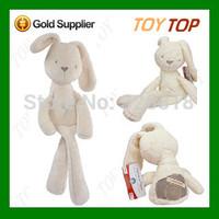 MaMas&papas Baby Rabbit Sleeping Comfort Calm Doll Plush Toys Appease Bunny Soft Toy Baby Toy Boneca Pelucia Brinquedos